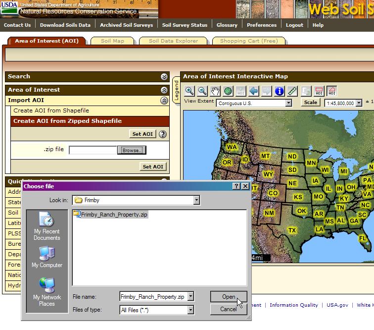 Web soil survey 2 3 new features for Soil web survey